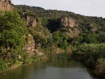 Landschap het Zuid- van Frankrijk de Provence Stock Afbeelding