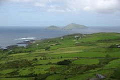 Landschap in Ierland Stock Foto's