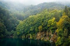 Landschap II van Plitvicemeren Stock Fotografie