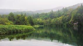 Landschap III van Plitvicemeren Stock Foto