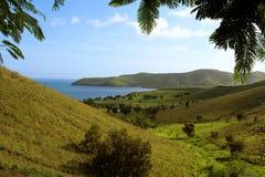 Landschap iof Nieuw-Caledonië Royalty-vrije Stock Afbeelding