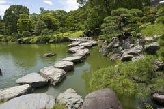 Landschap in Japan Stock Foto's