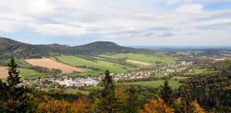 Landschap Jeseniky, Tsjechische Republiek, Europa Royalty-vrije Stock Fotografie