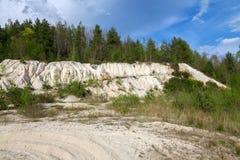 Landschap, kolenmijn Sokolov, Tsjechische Republiek Royalty-vrije Stock Afbeelding