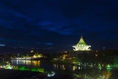 Landschap - Kuching Sarawak royalty-vrije stock afbeelding