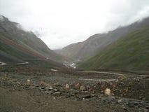 Landschap in ladakh-4 royalty-vrije stock foto's