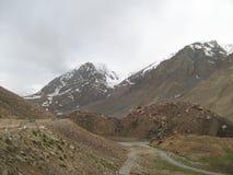 Landschap in ladakh-8 stock foto