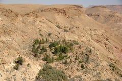Landschap in Libië Stock Foto