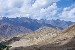 Landschap in Likir, in Ladakh Royalty-vrije Stock Afbeeldingen