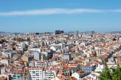 Landschap Lissabon Stock Fotografie