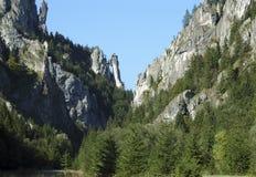 Landschap, Mala Fatra royalty-vrije stock afbeeldingen