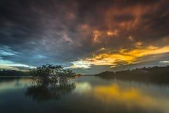 Landschap in mentawai Royalty-vrije Stock Afbeeldingen