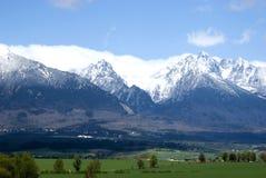 Landschap met berg Royalty-vrije Stock Afbeeldingen