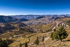 Landschap met bergen Royalty-vrije Stock Afbeelding