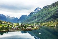 Landschap in Noorwegen Royalty-vrije Stock Foto's