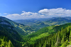 Landschap met Borsa-stad royalty-vrije stock foto