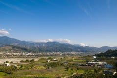 Landschap met hemel Royalty-vrije Stock Afbeelding