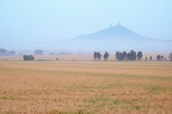 Landschap met Kasteel Royalty-vrije Stock Fotografie