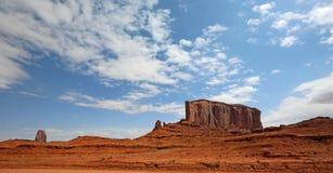 Landschap met Olifantsbutte Stock Afbeeldingen