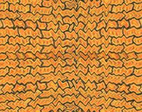 Landschap met rivier en bos Textuur van een bakstenen muur vector illustratie