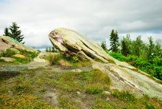Landschap met stenen Royalty-vrije Stock Foto's