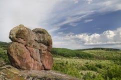 Landschap met Wolken Royalty-vrije Stock Afbeelding