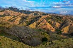 Landschap in Monteverde royalty-vrije stock fotografie