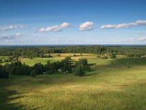 Landschap in Nationaal Park Karula Royalty-vrije Stock Afbeeldingen