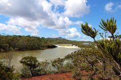 Landschap, Nieuw-Caledonië Stock Afbeeldingen