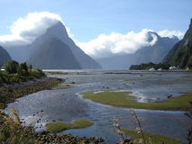 Landschap Nieuw Zeeland Royalty-vrije Stock Foto