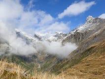 Landschap in Nieuw Zeeland stock afbeelding