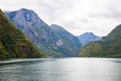 Landschap in Noorwegen Royalty-vrije Stock Afbeelding