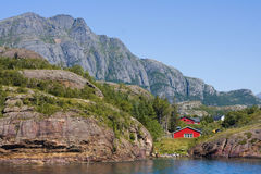 Landschap in Noorwegen Royalty-vrije Stock Foto