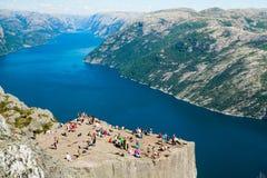 Landschap in Noorwegen Stock Afbeelding