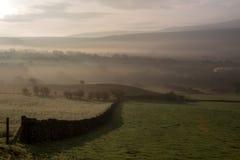 Landschap in ochtendlicht Royalty-vrije Stock Foto