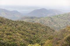 Landschap in Omo-Vallei ethiopië afrika Stock Foto's
