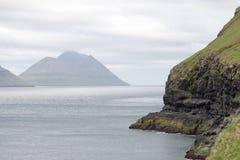 Landschap op de Faeröer royalty-vrije stock foto