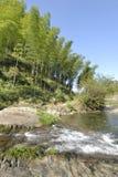 Landschap op de trekkingsroute Royalty-vrije Stock Afbeeldingen