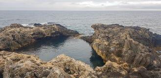 Landschap op Kaap Tarhankut, de Krim Royalty-vrije Stock Afbeelding