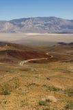 Landschap over de Vallei van de Dood Stock Afbeeldingen