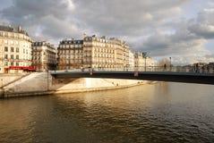 Landschap in Parijs Stock Foto