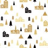 Landschap pattern1 Stock Afbeeldingen