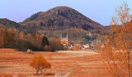 Landschap in Pfalz, Duitsland stock foto's