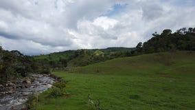 Landschap Santander - Colombia Stock Foto