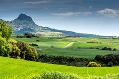 Landschap in Spanje Royalty-vrije Stock Afbeelding