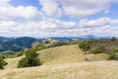 Landschap in Sugarloaf Ridge State Park, Sonoma-Provincie, Californië royalty-vrije stock afbeeldingen
