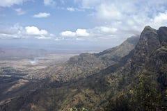 Landschap, Tanzania royalty-vrije stock afbeelding