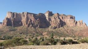 Landschap, Tigray, Ethiopië, Afrika Royalty-vrije Stock Foto