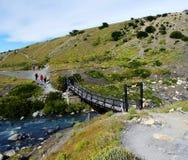 Landschap - Torres del Paine, Patagonië, Chili Stock Afbeelding
