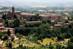 Landschap in Toscanië Royalty-vrije Stock Afbeeldingen